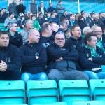 Supporters of Roda JC Kerkrade 3 Nov 1912 )(Hibs v St Mirren