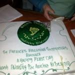 St. Patrick's Branch Cake