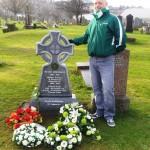 Dan McMichael Headstone (Hugh Cockburn)
