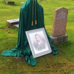 Pre-Unveil of Dan McMichael Headstone (Dec '13)