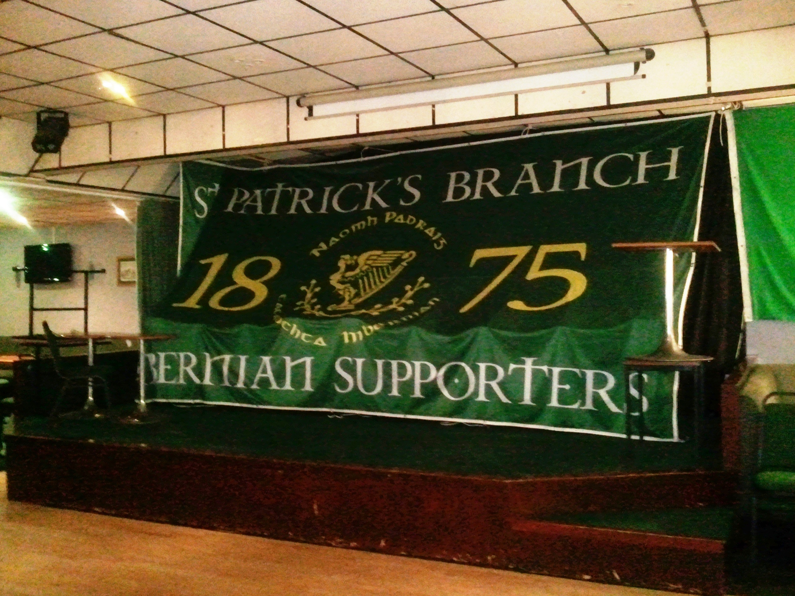 Branch Flag (Hibs Club)
