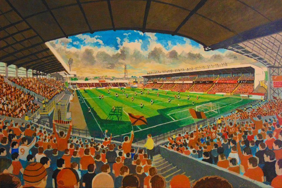 Tannadice-Park-Stadium-Art2-A4-Print-Dundee